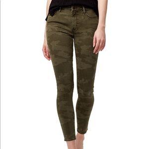 Sanctuary Social Standard Hi Rise Camouflage Jeans